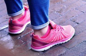 buty damskie różowe sportowe